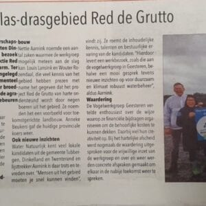 Plas-draggebied Red de Grutto